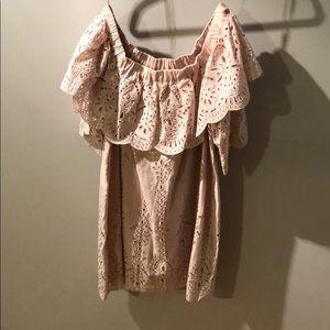 Strapless Parker dress